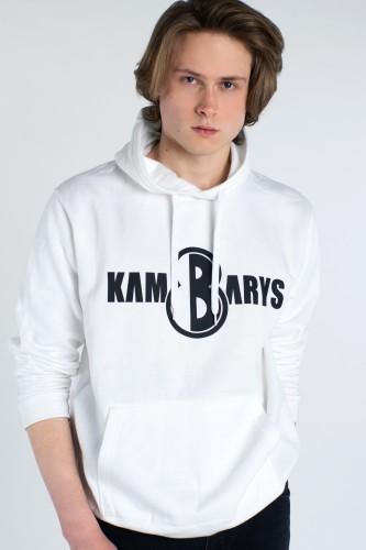 Džemperis 8 KAMBARYS - Baltas